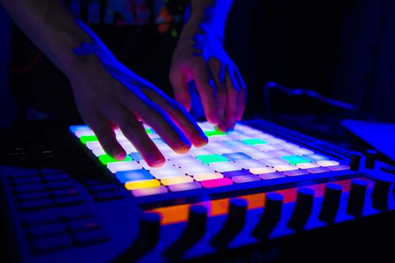 DJ med Ableton Push