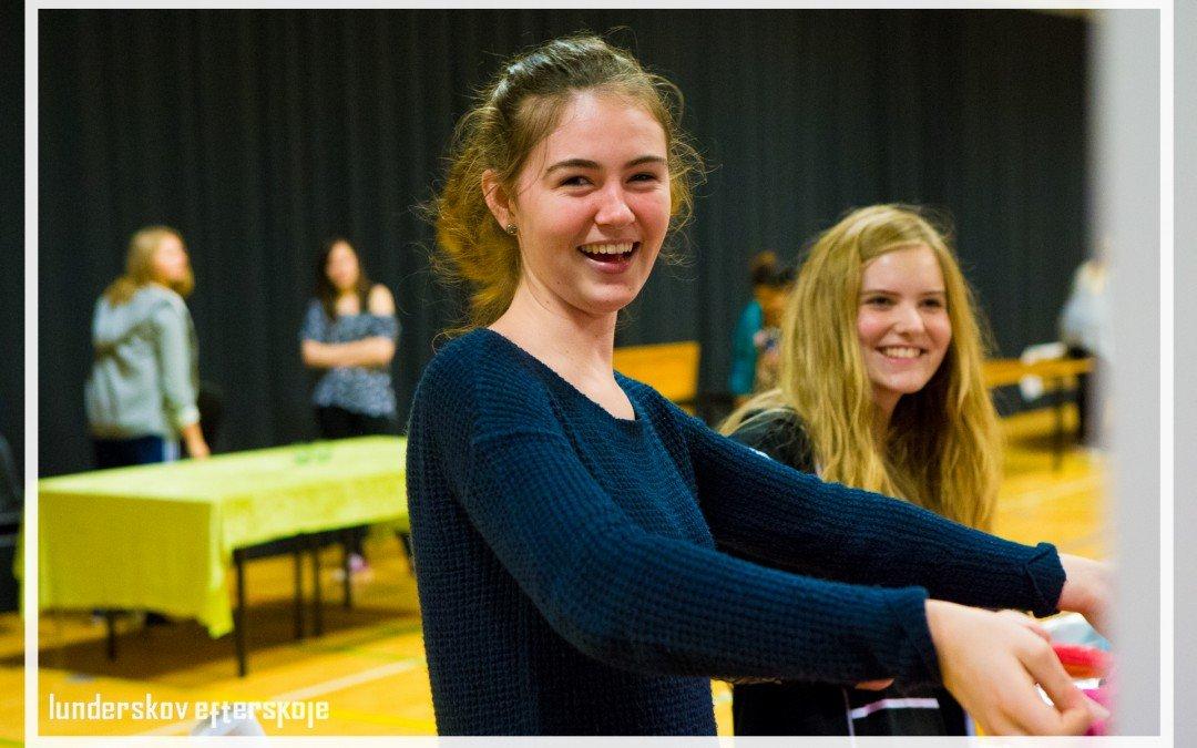 Elever gør klar til Projektmessen 2015