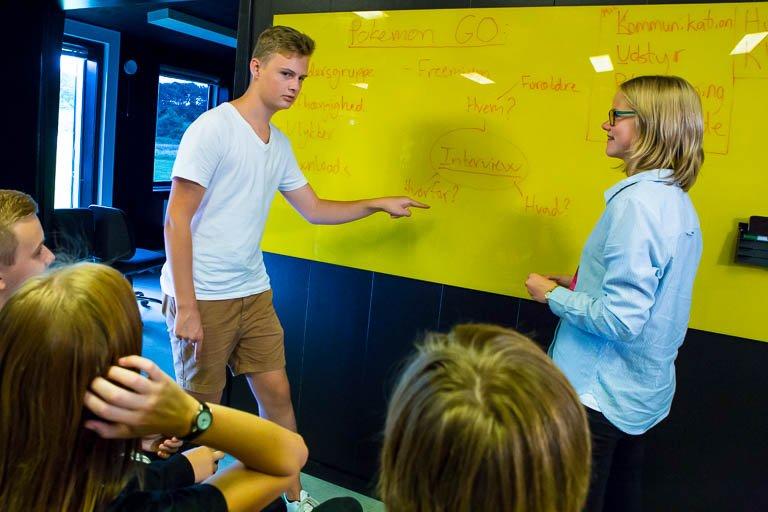 Elever planlægger udsendelse