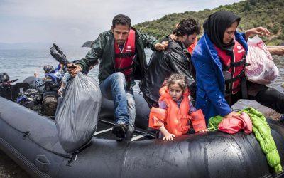 Stor debat om flygtninge om migranter