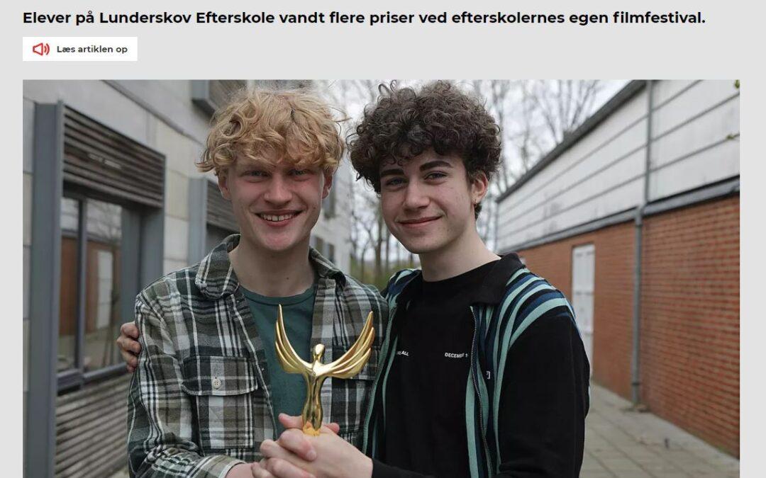 Vindere af filmpris i TV SYD