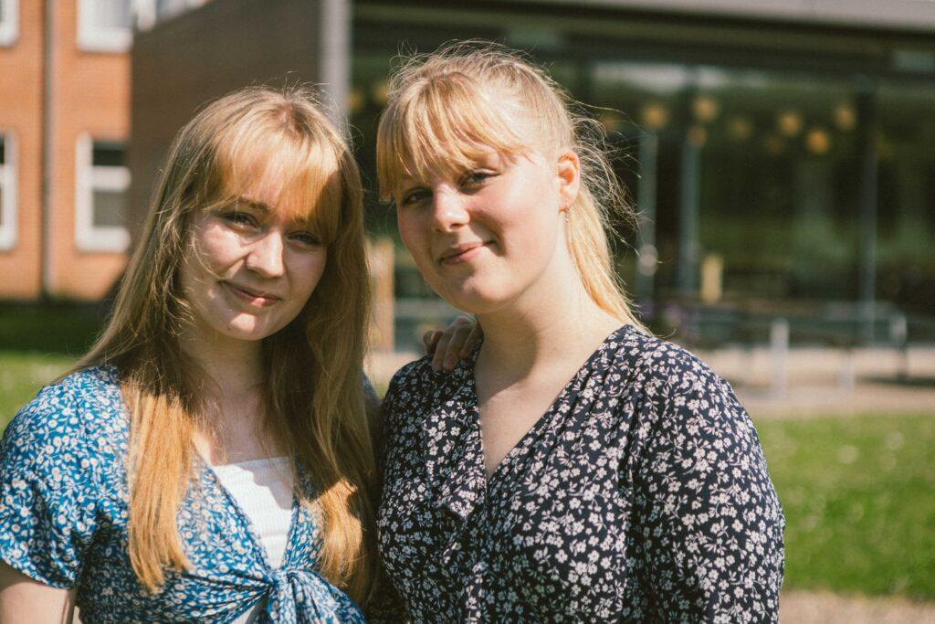 To veninder på efterskole