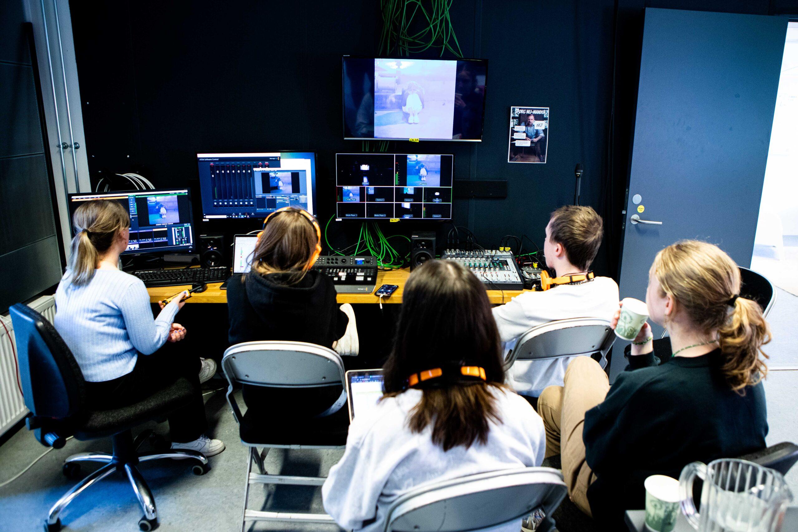 TV og medier i kontrolrummet