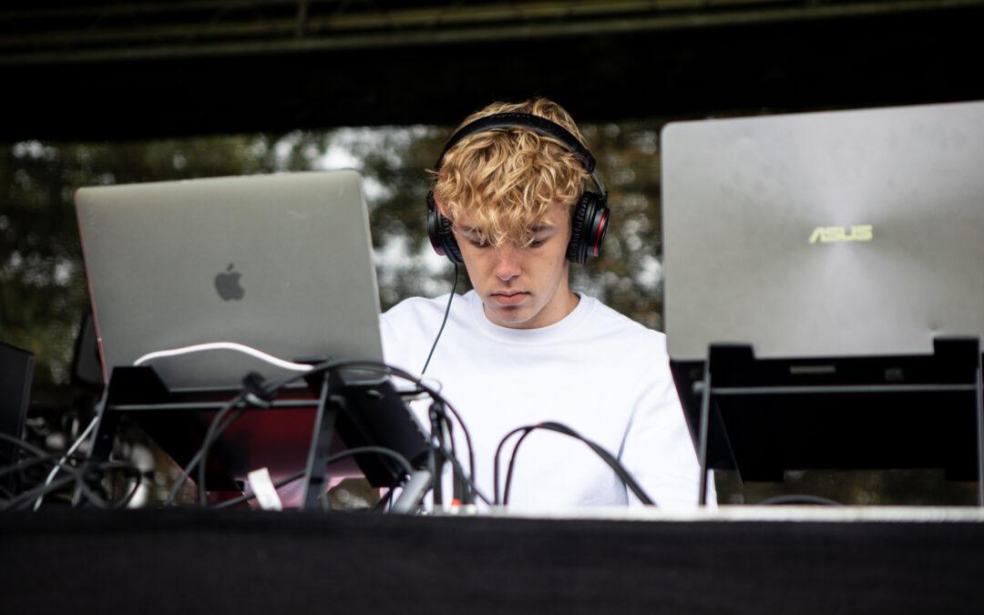 Linjefaget DJ spillede koncert i Esbjerg: – Det var fucking fedt!