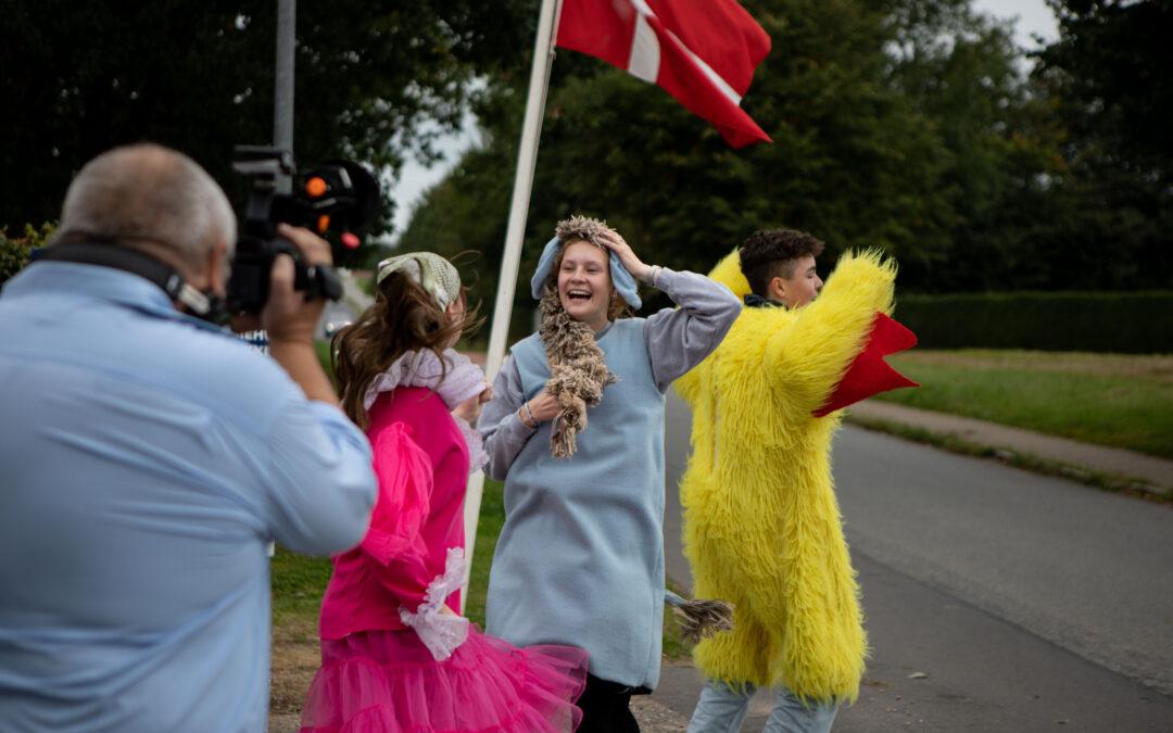 Lunderskov Efterskole i TV SYD på Efterskolernes Dag